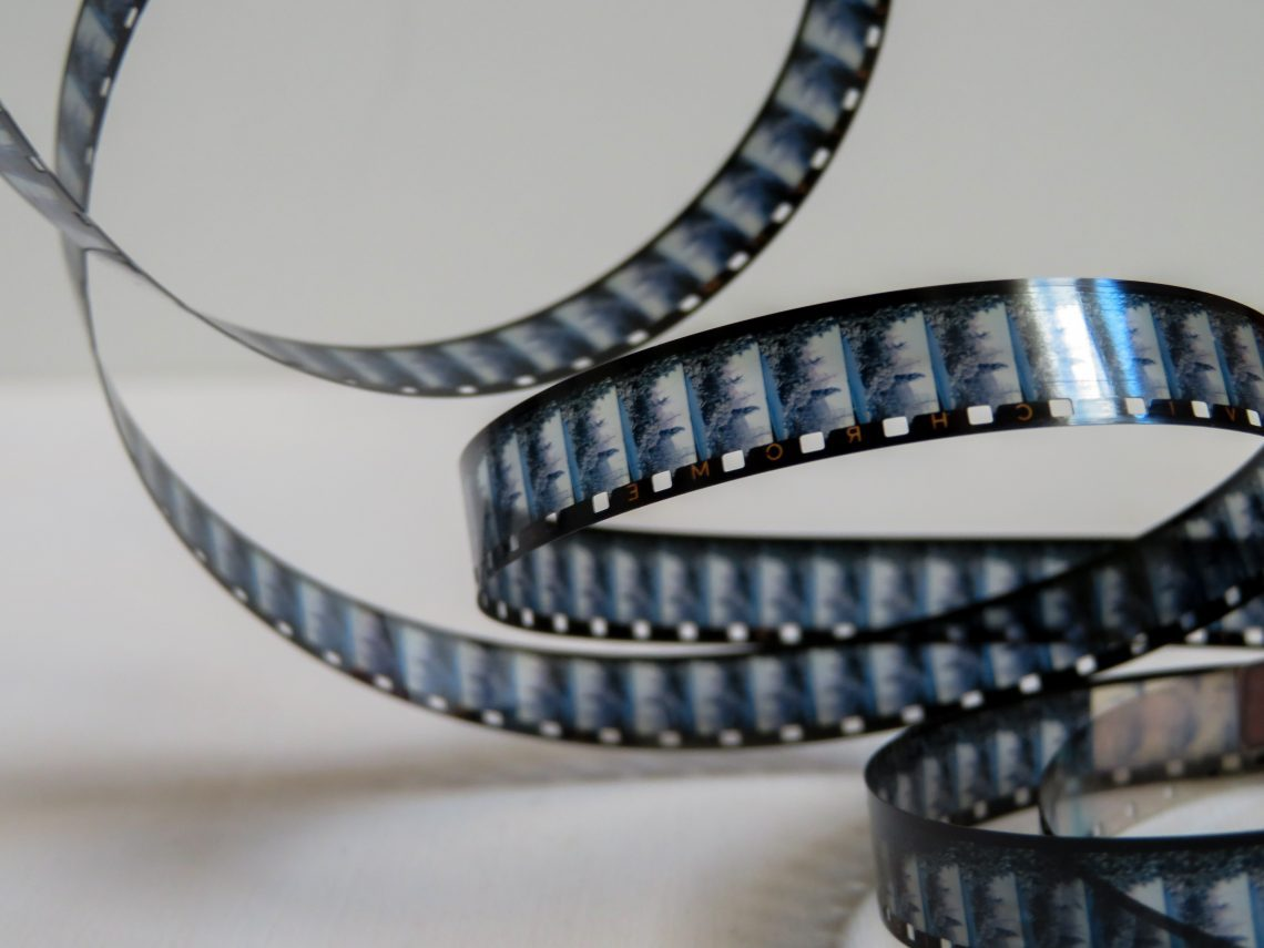 This is a video film strip